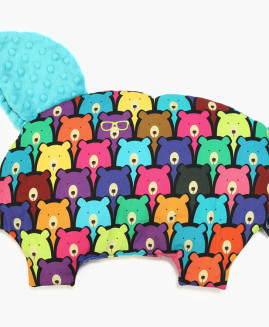 PODUSIA SLEEPY PIG - JELLY BEARS - TEAL