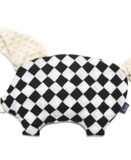 PODUSIA SLEEPY PIG - Follow Me Chessboard - Ecru