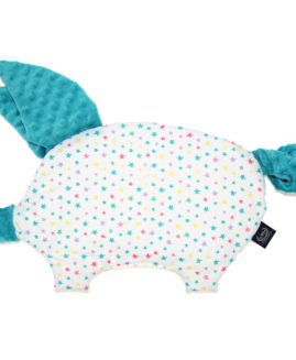 PODUSIA SLEEPY PIG - RAINBOW STARS TEAL