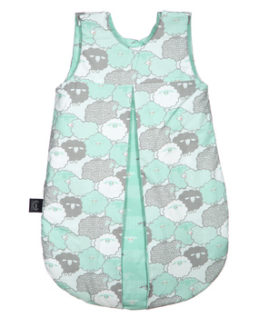 """SLEEPING BAG """"S"""" - MINT SHEEP FAMILY & SHEEP FAMILY STRIPS - LIMITTED EDITION"""
