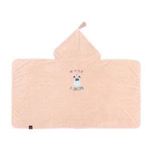 Badetuch Bamboo Soft – M – KID POWDER PINK – DOGGY UNICORN