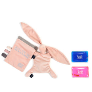 VELVET COLLECTION – THERMO BUNNY – POWDER PINK