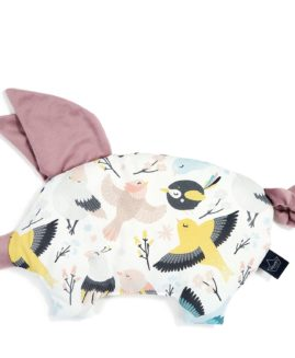 VELVET COLLECTION - PODUSIA SLEEPY PIG - CUTE BIRDS - FRENCH LAVENDER