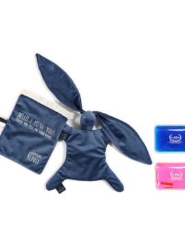 VELVET COLLECTION - THERMO BUNNY - HARVARD BLUE